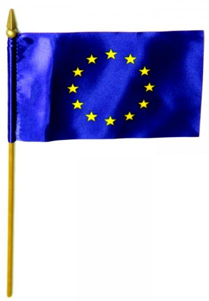 Europa Tischfahne 10x15cm