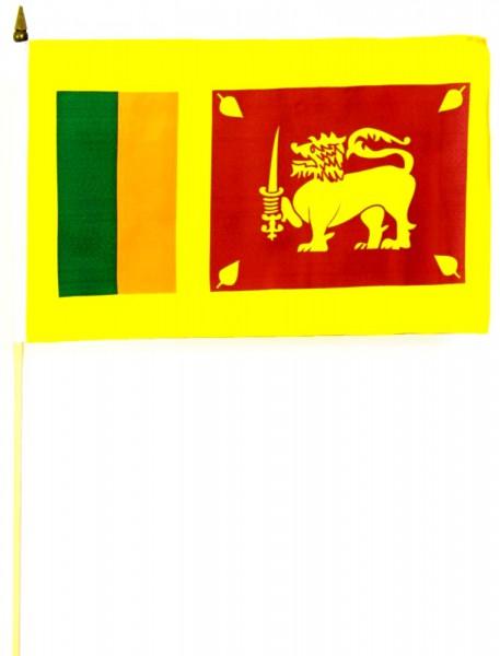 Sri Lanka Stockfahne 30cm x 45cm