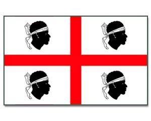 Sardinien Flagge 90 x 150 cm
