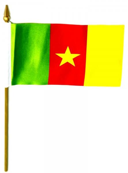 Kamerun Tischfahne 10x15cm