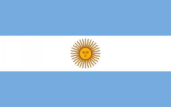 Argentinien Flagge 90 x 150 cm