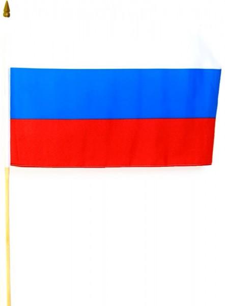 Russland Stockfahne 30cm x 45cm