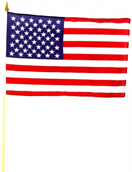 USA Stockfahne 30cm x 45 cm