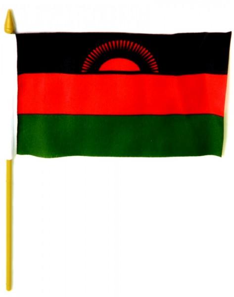 Malawi Tischfahne 10x15cm