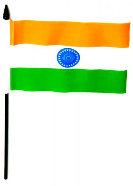 Indien Tischfahne 10x15cm