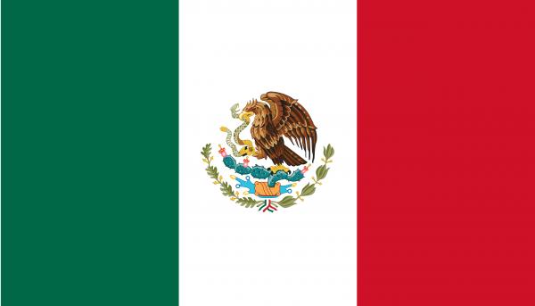 Mexiko Flagge 90 x 150 cm