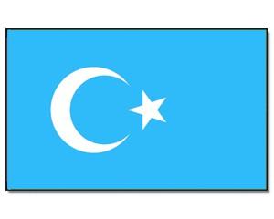 Ostturkistan Flagge 90 x 150 cm