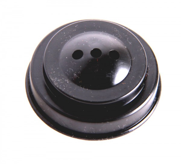 Tischsockel Schwarz für 3 Tischfahnen 10x15cm und 22x15cm