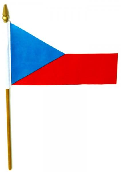 Tschechien Tischfahne 10x15cm