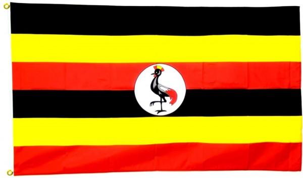 Uganda Flagge 90 x 150 cm