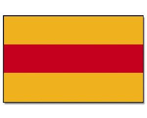 Baden Flagge 90 x 150 cm
