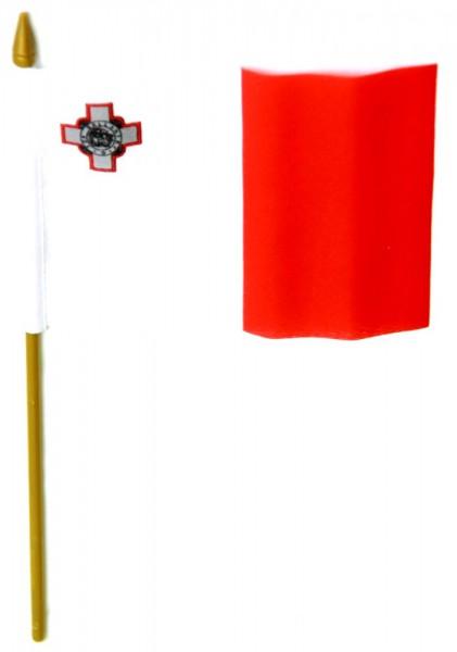 Malta Tischfahne 10x15cm