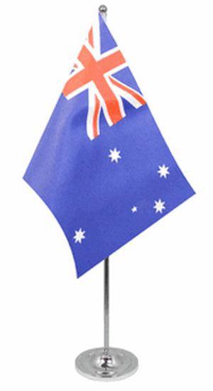 Australien Tischfahne 22,5x15cm Satin