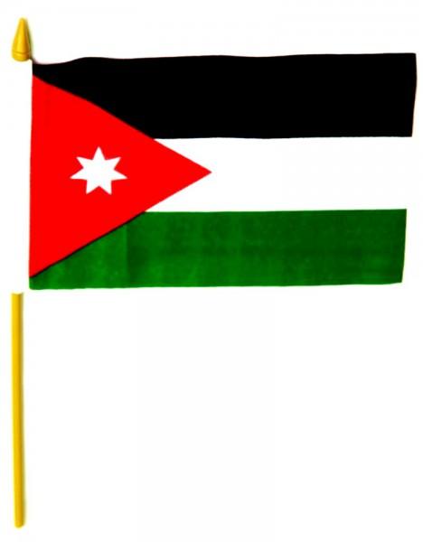Jordanien Tischfahne 10x15cm