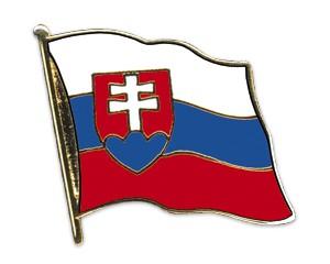 Slowakei Pin Flaggenpin