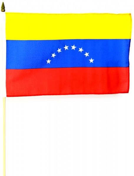 Venezuela Stockfahne 30cm x 45 cm