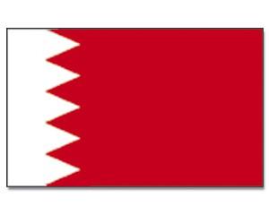 Bahrain Stockfahne 30cm x 45 cm