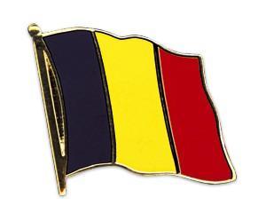 Belgien Pin Flaggenpin
