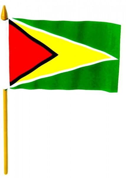 Guyana Tischfahne 10x15cm