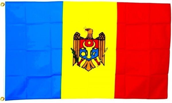 Moldauflagge 90 x 150 cm