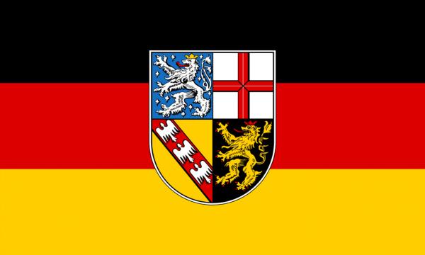 Saarland Flagge 150x250 cm