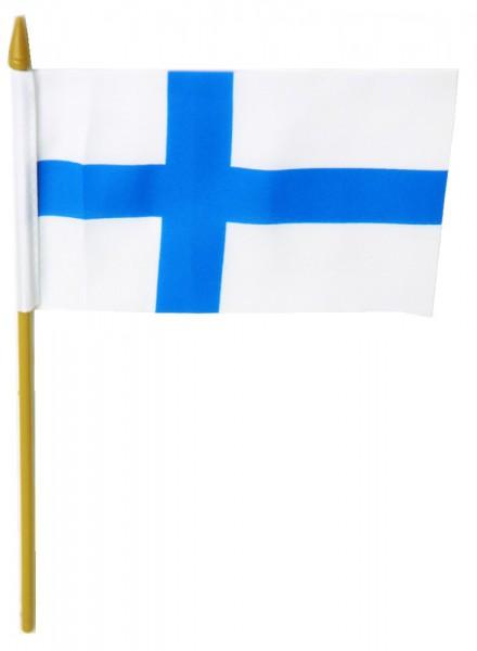 Finnland Tischfahne 10x15cm