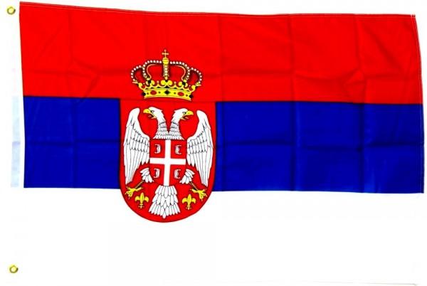 Serbien Fahne/Flagge - 60cm x 90cm