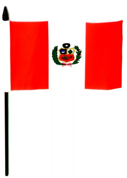 Peru Tischfahne 10x15cm