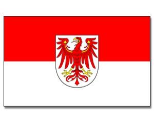 Brandenburg Flagge 90 x 150 cm