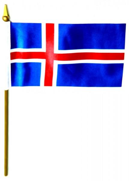 Island Tischfahne 10x15cm
