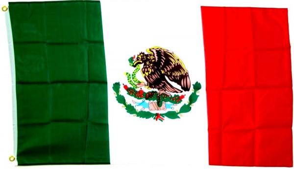 Mexiko Flagge 150x250cm