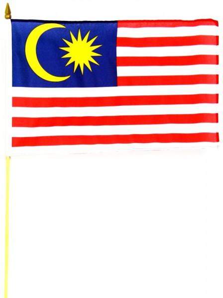 Malaysia Stockfahne 30cm x 45 cm