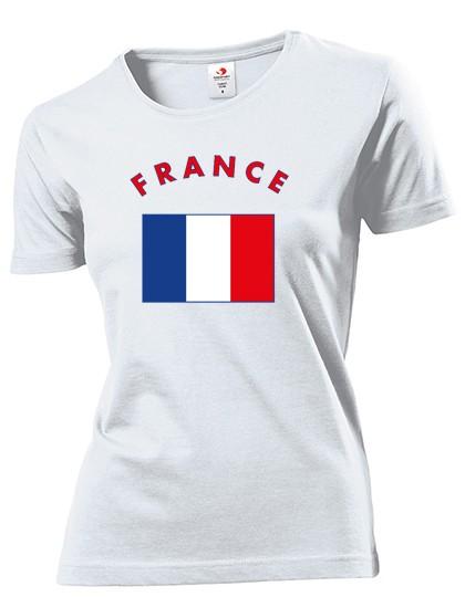 Damen T-Shirt Land Flagge