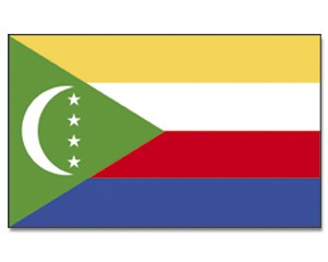 Komoren Flagge 90 x 150 cm