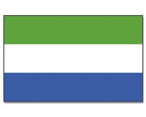 Sierra Leone Flagge 90 x 150 cm