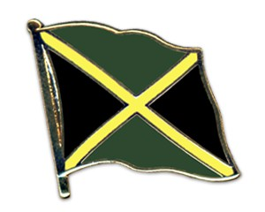 Jamaika Pin Flaggenpin