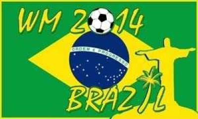 WM 2014 Brazil Flagge Sonderauflage 2014