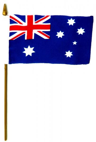 AustralienTischfahne 10x15cm