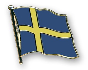 Schweden Pin Flaggenpin