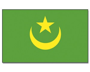 Mauretanien Flagge 90 x 150 cm