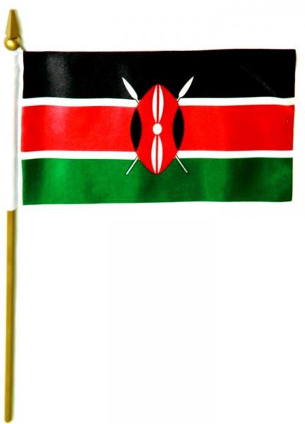 Kenia Tischfahne 10x15cm