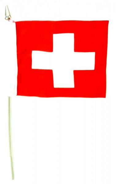 Schweiz Tischfahne 10x15cm