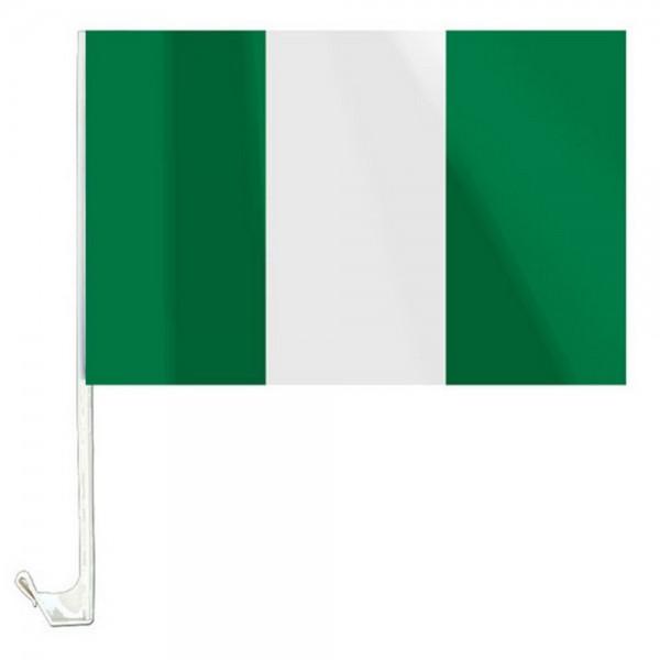 Nigeria Autofahne