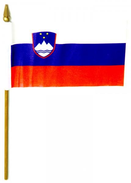 Slowenien Tischfahne 10x15cm
