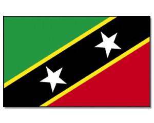 St Kitts Nevis Flagge 90 x 150 cm