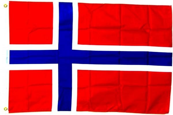 Norwegenflagge 90 x 150 cm