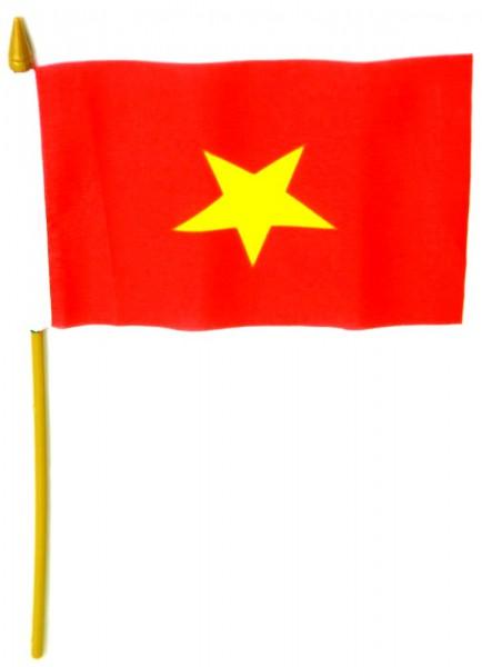 Vietnam Tischfahne 10x15cm