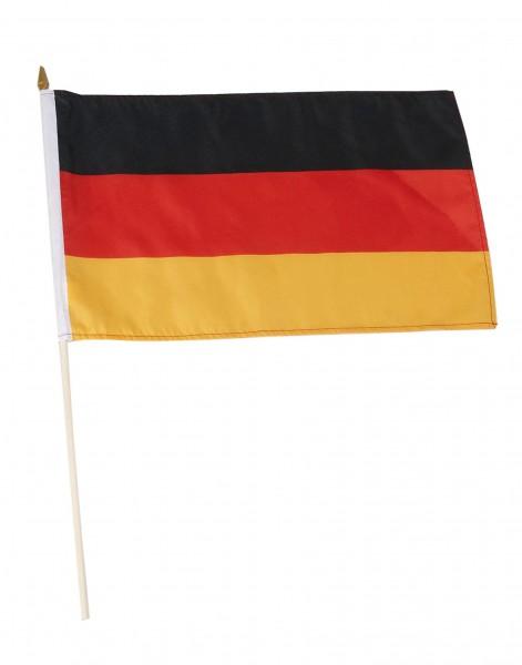 Deutschland Stockfahne 30 x 45 cm