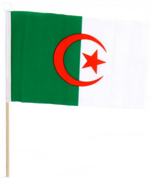 Algerien Tischfahne 22,5x15cm