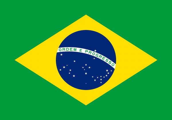 Brasilien Flagge 90 x 150 cm